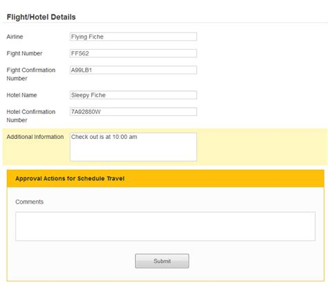 hotel request for template travel requests process with laserfiche