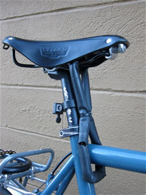 bike seat lock chain bell what do you do when bike thieves get hip to the