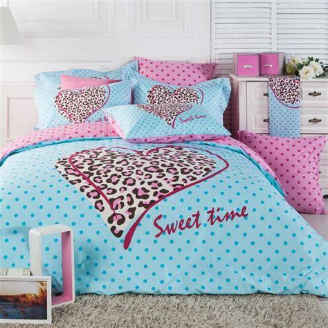 pink cheetah bed set home furniture design