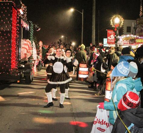 ida parade of lights here s when county s parades and tree lightings