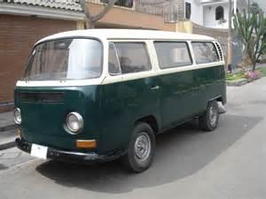 Van Volkswagen Combi Occasion