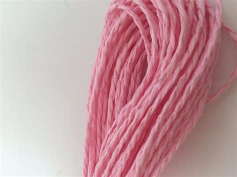 Twisted Paper Crafts - 15m twisted paper raffia craft favor gift wrapping twine