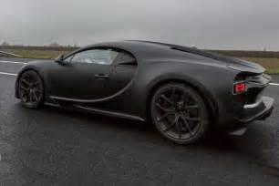 In A Bugatti New Bugatti Chiron Prototype Spotted