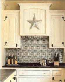 Tin Kitchen Backsplash by The Steampunk Home Tin Backsplashes