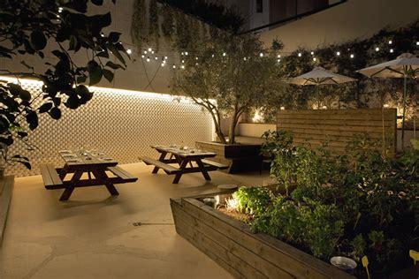 Patio Lights Restaurant Hospitality Design Commercial Interior Restaurant Ideas