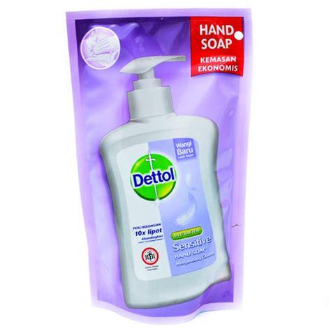 Bedak Make Isi Ulang dettol handwash pouch 200ml sensitive gogobli