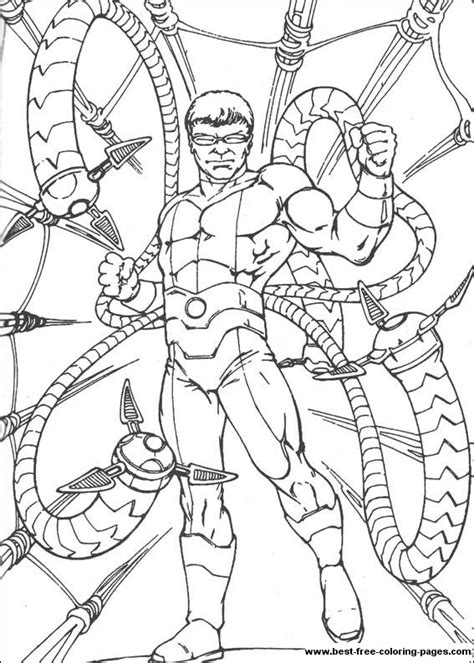 Doc Ock Coloring Pages Az Coloring Pages Doc Ock Coloring Pages