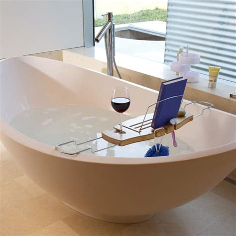 22 cool bathtub caddies or marvelous bathtub tray design