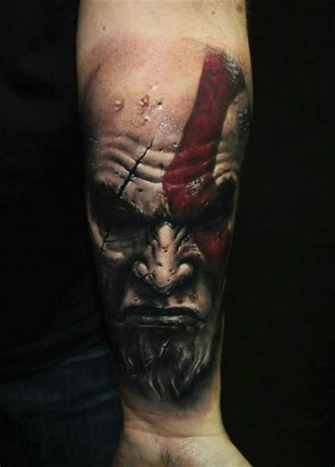 tattoo fail kratos 17 best images about realism portrait tattoos on