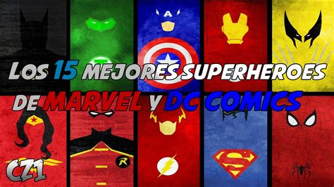 libro dc super heroes the los 15 mejores superheroes de marvel y dc comics eltop15 youtube