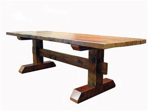 trestle dining room table plans best 25 trestle table plans ideas on