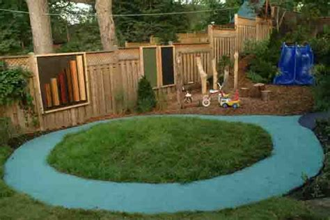 Playscape Trike Track Backyard Playscapes