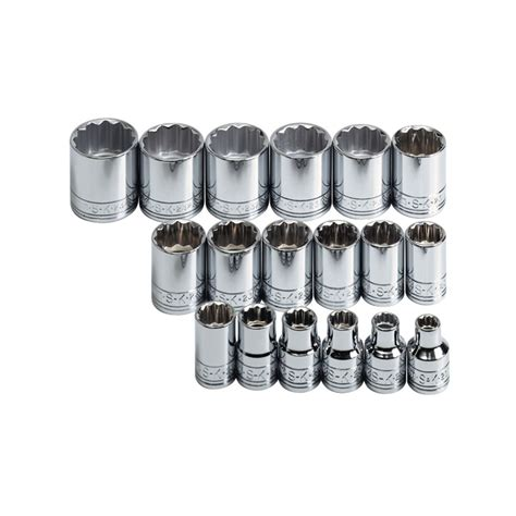 12 Drive Mata Socket 12mm 12pt Aigo 3 8 in drive 12 pt metric socket set 18 pc
