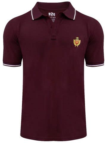 Blouse Polos Tali Maroon Tosca buy t shirts maroon polo t shirt rph6438 maroon cilory