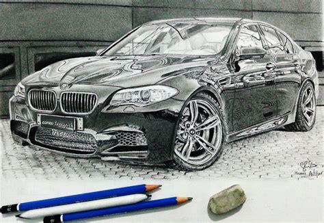 bmw car drawing bmw m5 car drawing by hannaasfour on deviantart