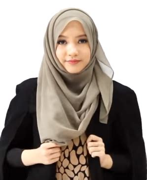 fhoto tutorial berhijab tips memilih hijab untuk wanita bertubuh gemuk fashion