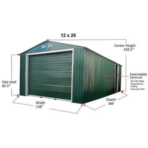 Typical Garage Sale Prices by 55161 55131 Duramax Imperial Storage Buildings 12x26 Metal
