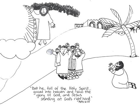 coloring pages bible stephen free coloring pages of the stoning of stephen