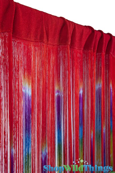 string curtains string curtain colorful gypsy curtains fringe curtain