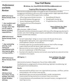 Resume Templates For Office by Free Resume Templates Microsoft Office Health Symptoms