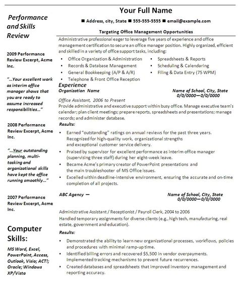Microsoft Word 2007 Resume Template by Free Resume Templates Microsoft Office Health Symptoms
