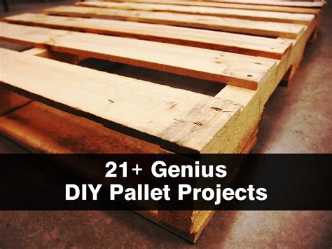 wooden pallet craft projects 21 genius diy pallet projects