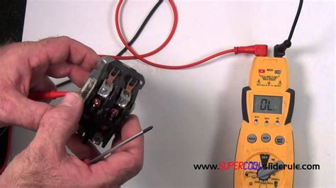 properly test  contactor youtube