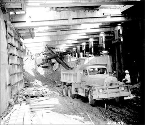 rubber sts seattle fascinating vintage construction photos excavator rubber