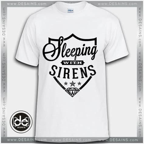 Tshirt Kaos Sleeping With Sirens buy tshirt sleeping with sirens sws logo tshirt womens