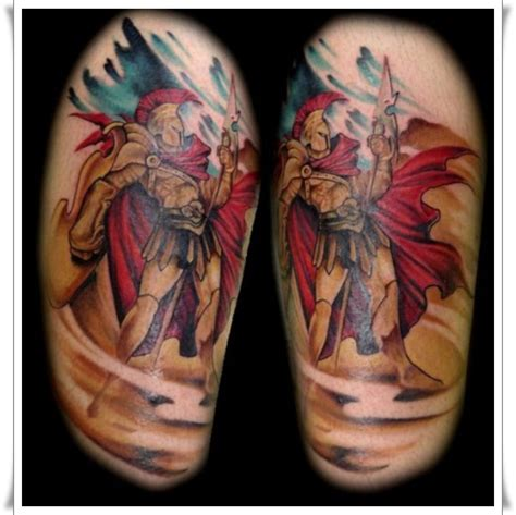 roman warrior tattoo 17 of the most powerful warrior designs