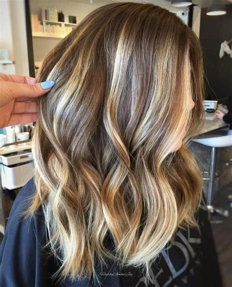 bayalage light blonde to carmel blonde 90 balayage hair color ideas with blonde brown and