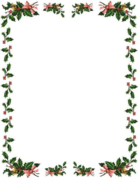 White Home Office christmas border christmas clip art borders free printable