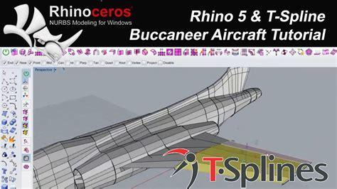 video tutorial rhino 5 rhino 5 t splines eğitim u 231 ak 4 tutorial buccaneer