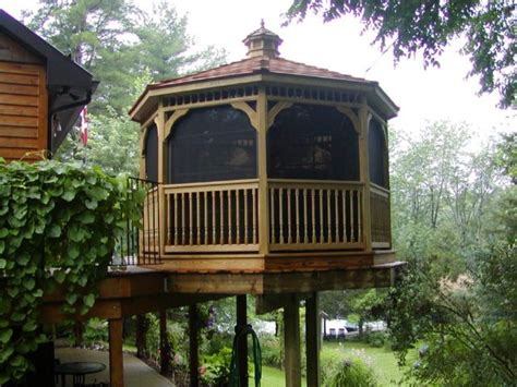 Backyard Creations Steel Roof Gazebo Reviews Backyard Creations Gazebo Reviews Outdoor Furniture
