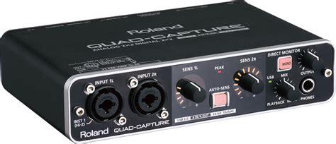 Usb Audio Capture roland capture usb 2 0 audio interface