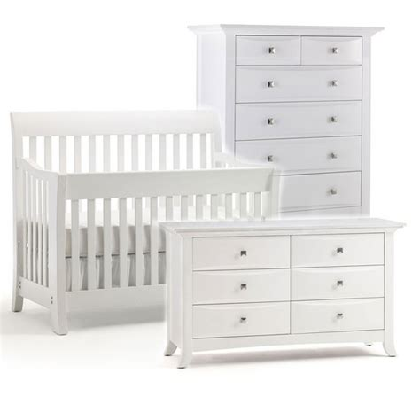 White Crib Furniture Sets by 20 Beautiful White Nursery Furniture Home Design Lover