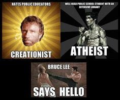Atheist Vs Christian Meme - science vs religion on pinterest atheist bill nye and