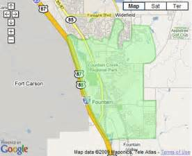 fort carson colorado map colorado springs real estate connection and