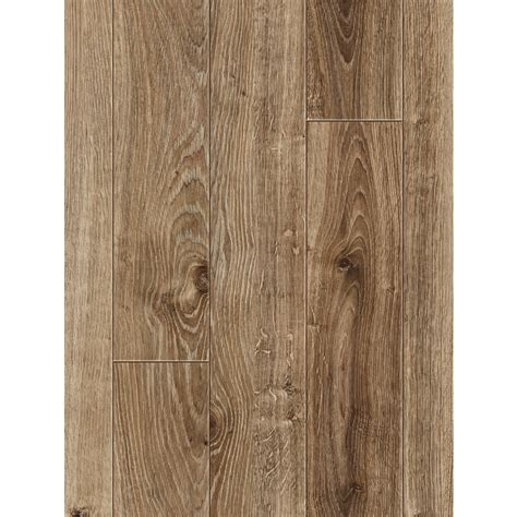 shop allen roth 4 96 in w x 4 23 ft l handscraped driftwood oak handscraped wood plank