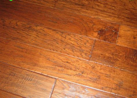 Distressed Engineered Wood Flooring Engineered Distressed Scraped Hickory Coffee Hardwood Floor Flooring Ebay