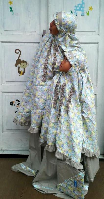 Mukena Adem Asli Bali Exclusive Hitam Polos perlengkapan shalat