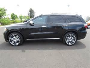 Dodge Durango 22 Inch Wheels 2011 Dodge Durango Citadel With Navigation 22 Inch Wheels