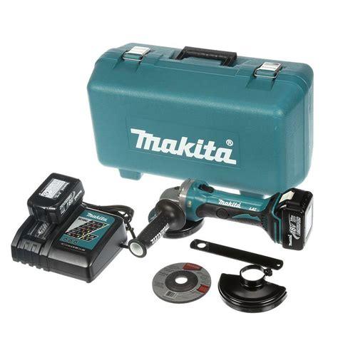 makita 18 volt lxt lithium ion 4 1 2 in cordless cut