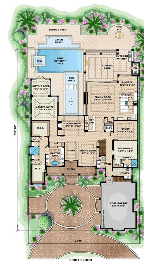 planning ideas mediterranean house plans with pools 6 dream house plans with pool www pixshark com images