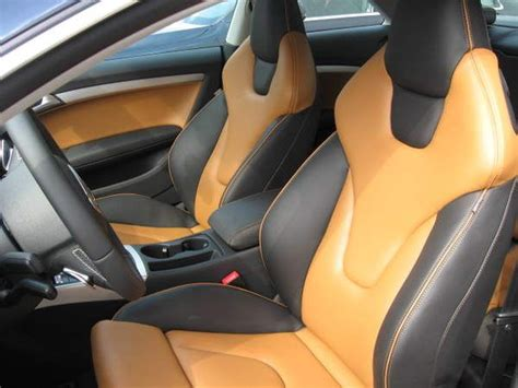 Custom Leather Upholstery For Cars by Premium Custom Leather Seat Cover De