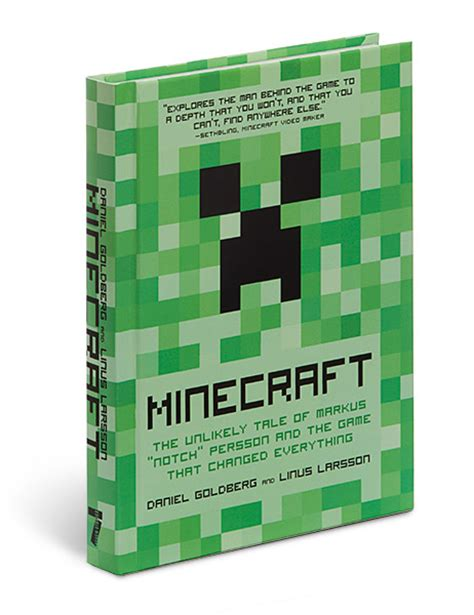 this of ours tales of mob bartenders books book review minecraft the unlikely tale of markus quot notch