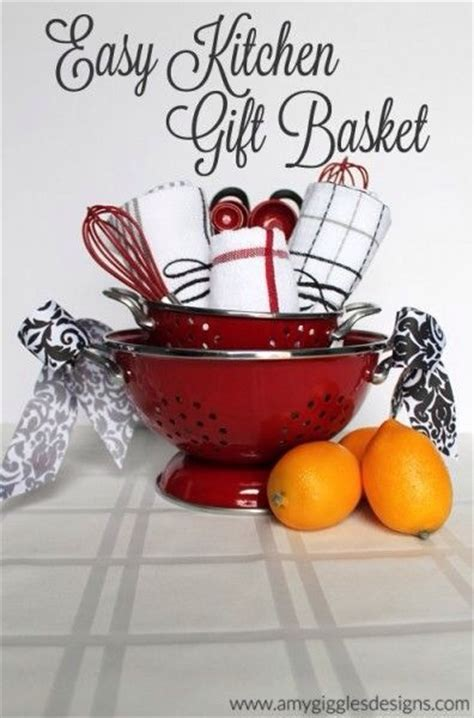 gift ideas for the kitchen creative diy gift basket ideas trusper