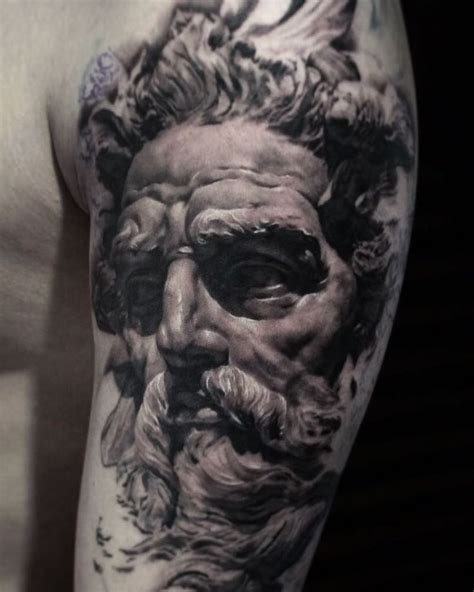 poseidon tattoo design 11 best poseidon tattoos images on poseidon