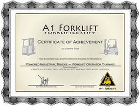 forklift certification amp forklift training onsite