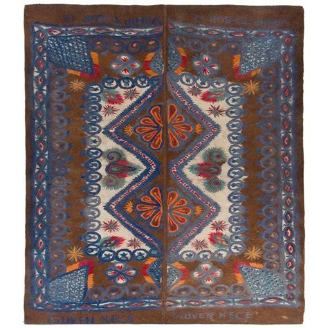 turkey rugs for sale large vintage felt rug from turkey for sale at 1stdibs